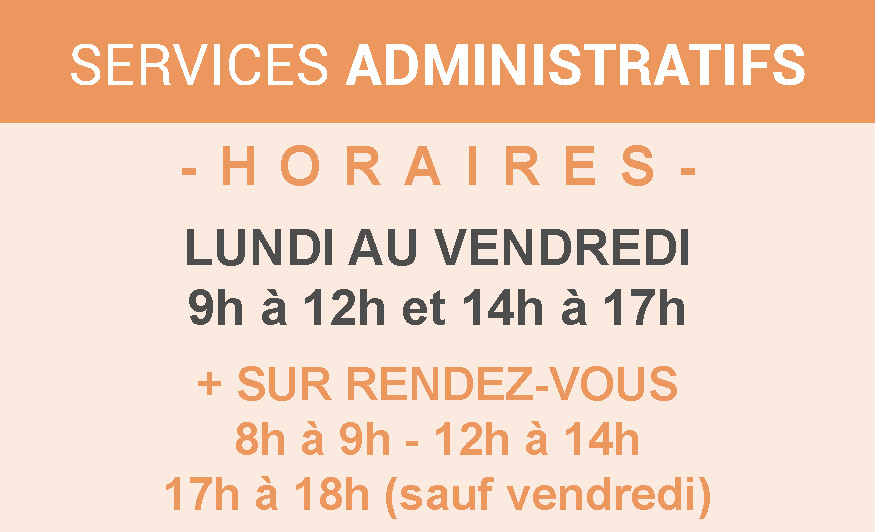 horaires 2019